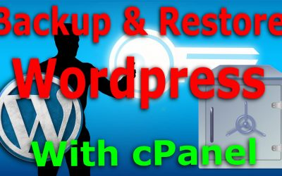 No UpdraftPlus, no problem, backup and restore your WordPress site with cPanel on a shared host