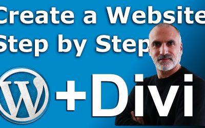 Apprenez à créer un site WordPress avec DIVI rapidement et facilement