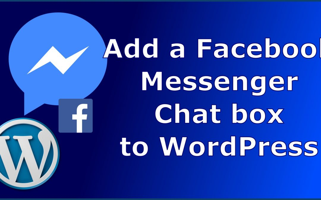 Easy add of Facebook messenger chat to your WP website